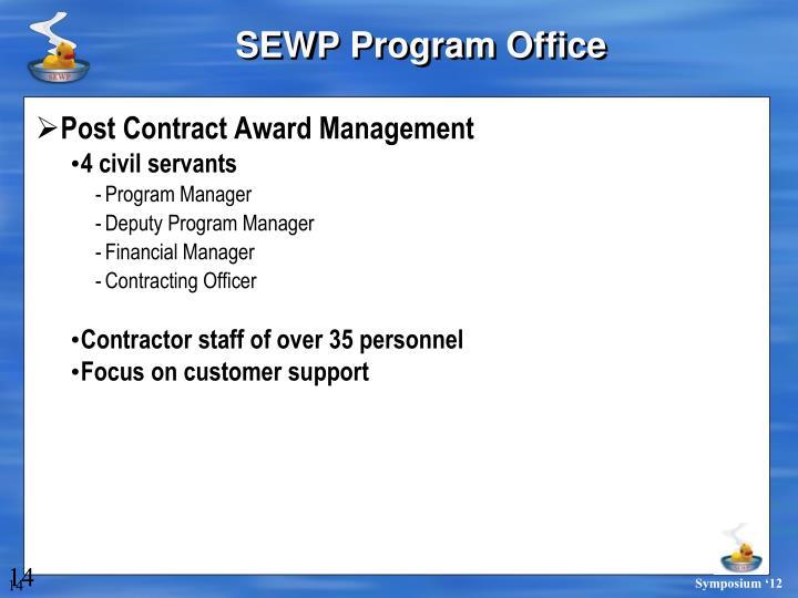 SEWP Program Office