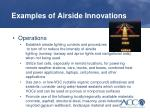 examples of airside innovations2