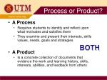process or product