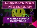 laboratorium peneltilan