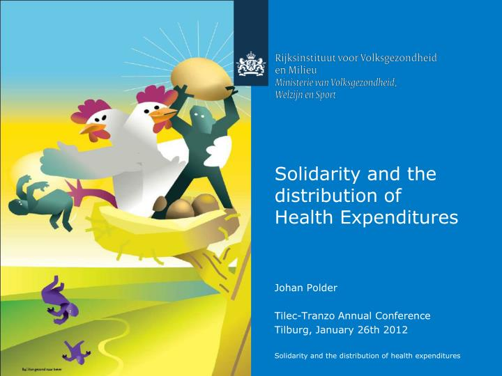 solidarity and the distribution of health expenditures n.