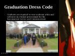 graduation dress code