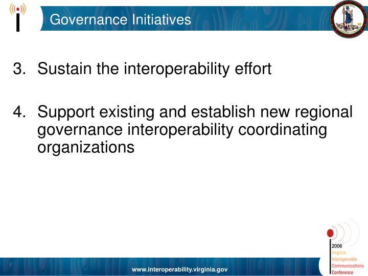 Governance Initiatives