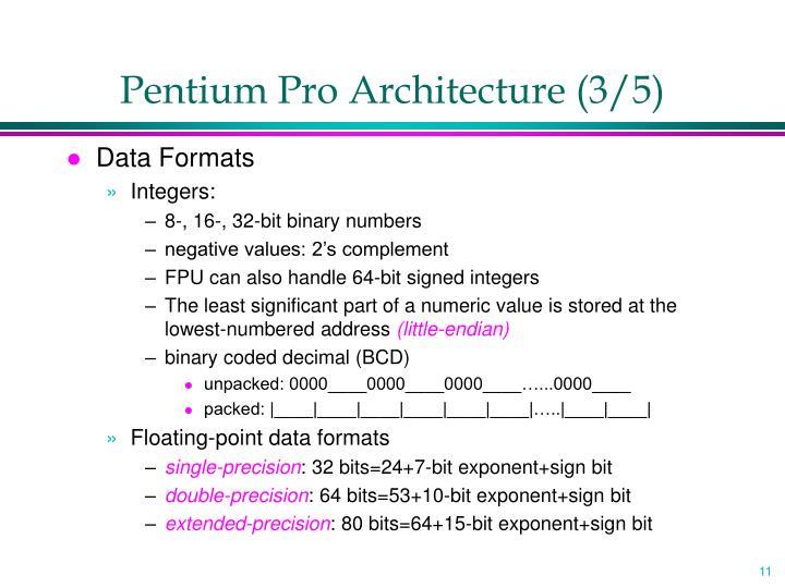 Pentium Pro Architecture (3/5)