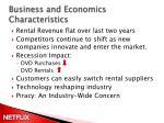 business and economics characteristics