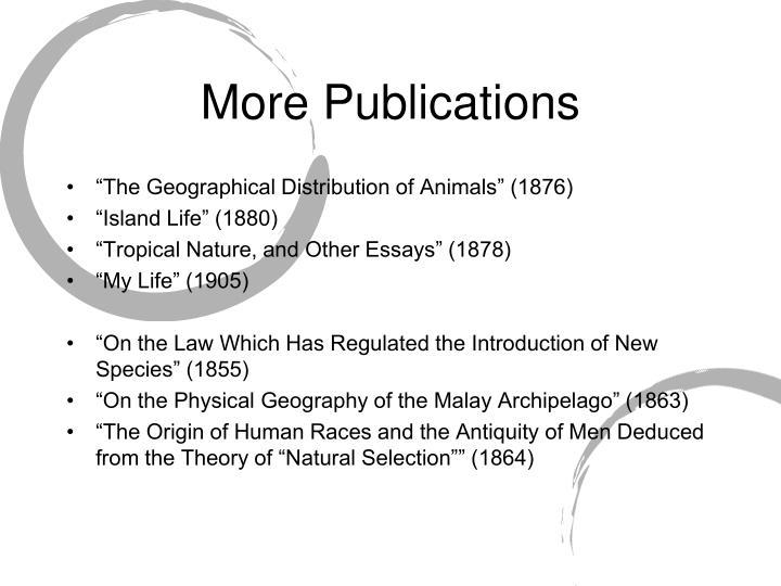More Publications