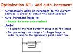 optimization 1 add auto increment