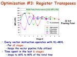 optimization 3 register transposes3