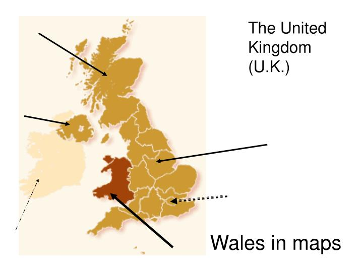 Wales in maps