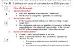 part b s defends on basis of conversation re 50k per year
