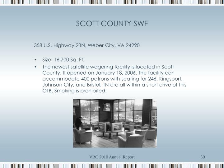 SCOTT COUNTY SWF