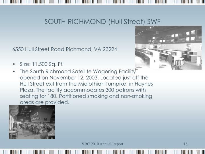 SOUTH RICHMOND (Hull Street) SWF