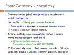 photogateway pozn mky