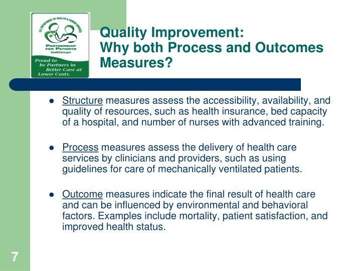 Quality Improvement: