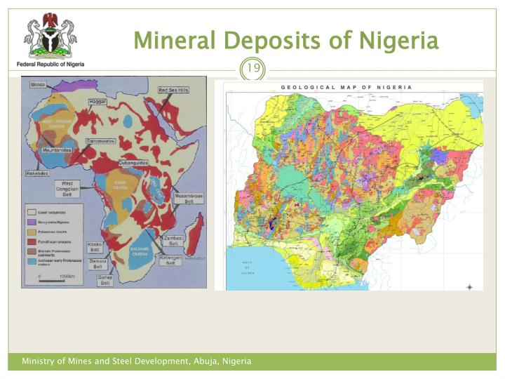 Mineral Deposits of Nigeria