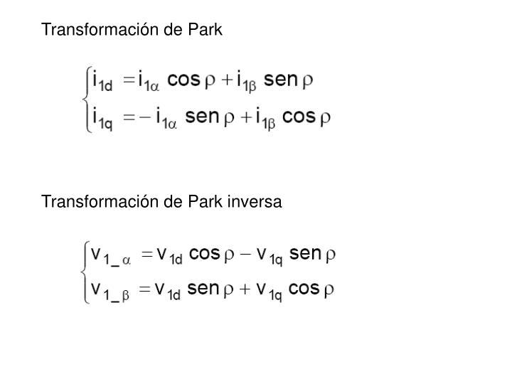 Transformación de Park