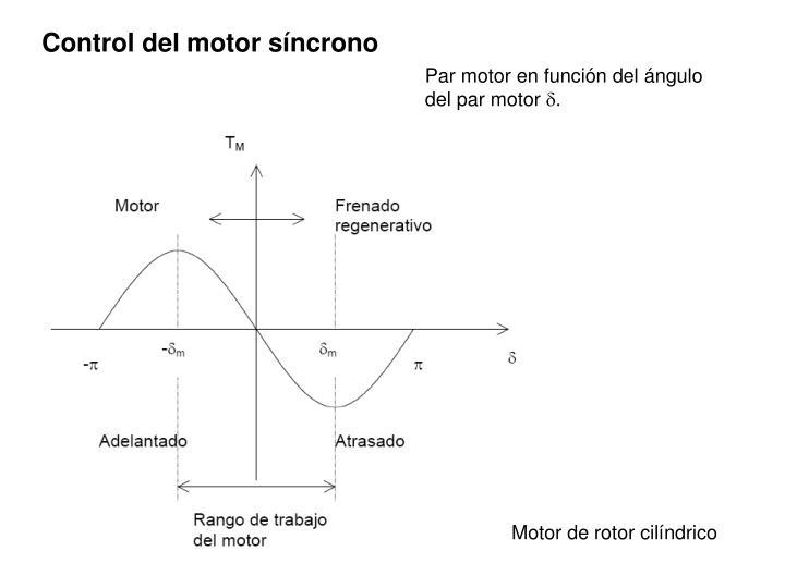 Control del motor síncrono