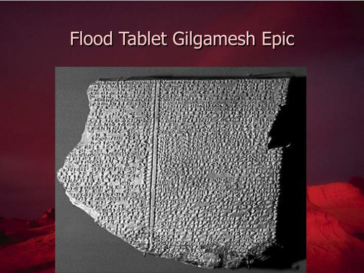 Flood Tablet Gilgamesh Epic