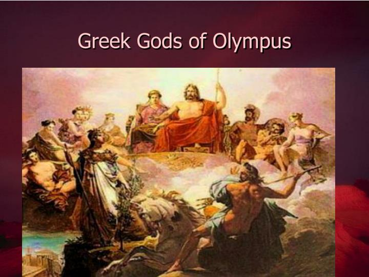 Greek Gods of Olympus