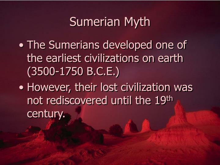 Sumerian myth