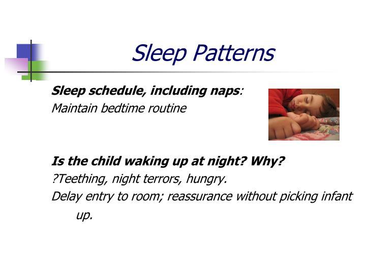 Sleep Patterns