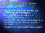 efectos adversos y suspensi n de tarv1