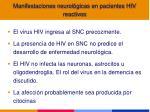 manifestaciones neurol gicas en pacientes hiv reactivos1