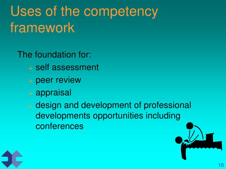 Uses of the competency framework
