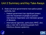 unit 2 summary and key take aways1