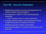 task 6b security subproject