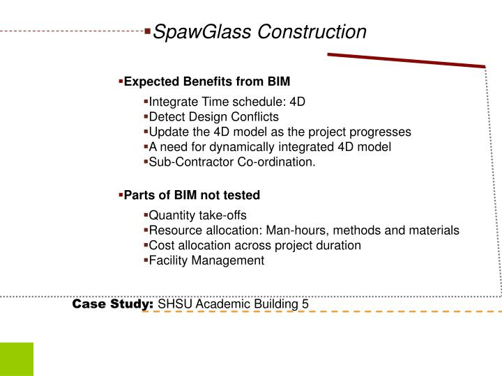 SpawGlass Construction