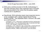 ennis knupp associates eka july 2005