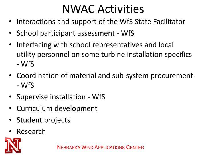 NWAC Activities