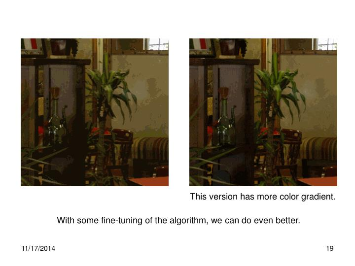 This version has more color gradient.