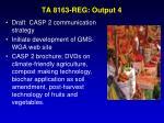 ta 8163 reg output 4