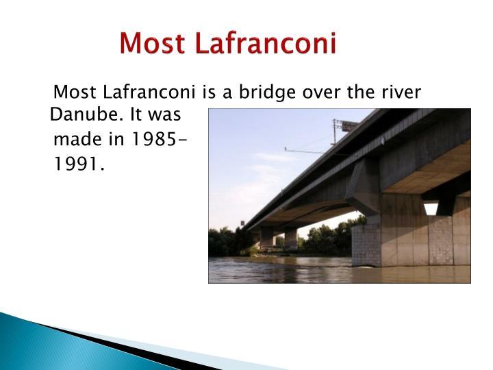 Most Lafranconi