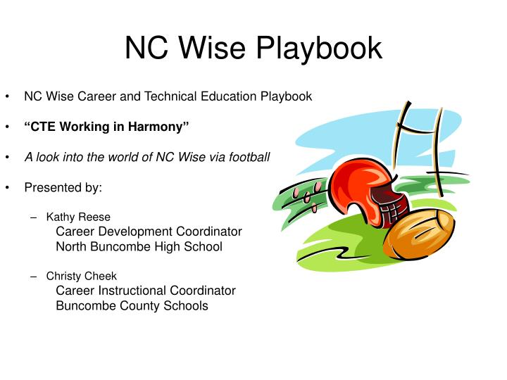 Nc wise playbook