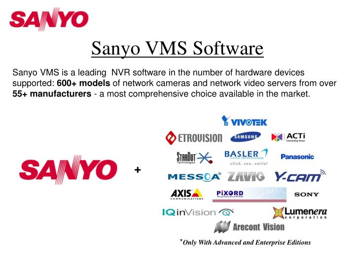 Sanyo VMS Software