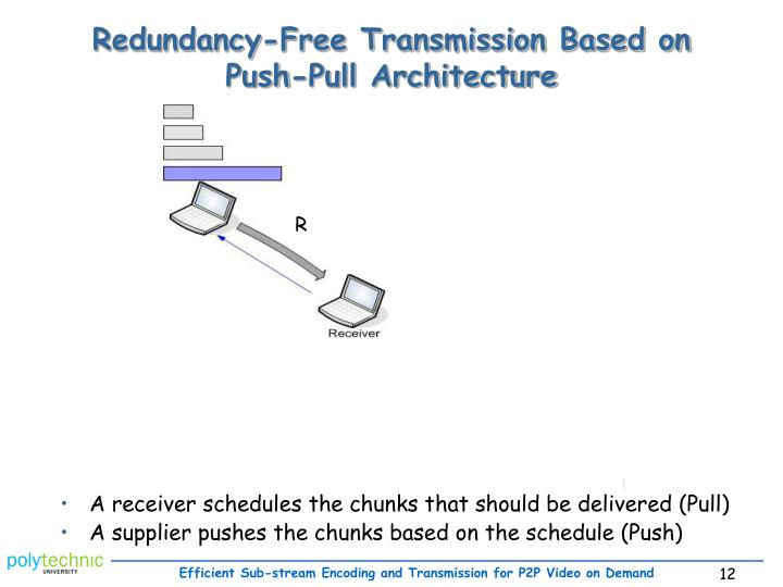 Redundancy-Free Transmission Based on
