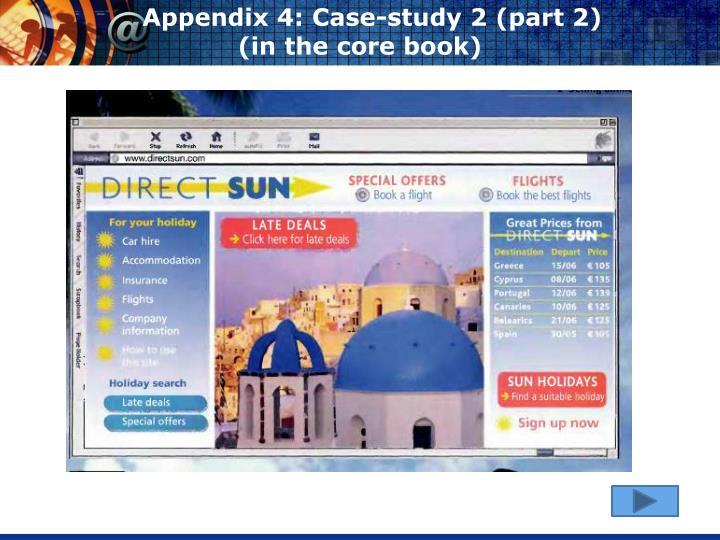 Appendix 4: Case-study 2 (part 2)
