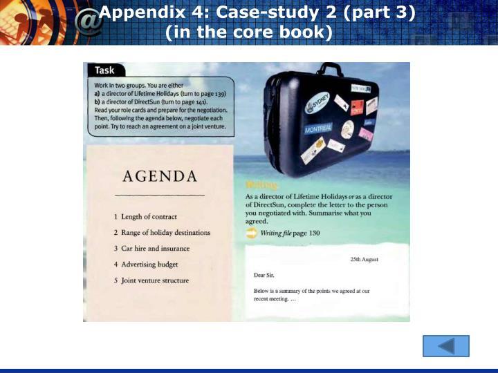 Appendix 4: Case-study 2 (part 3)