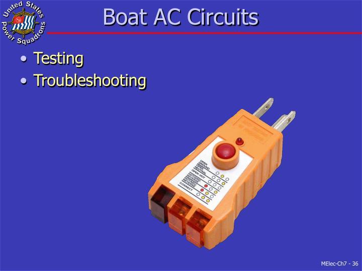 Boat AC Circuits
