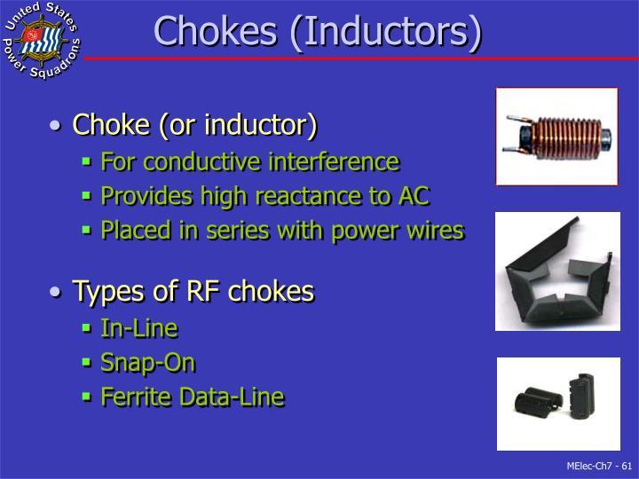 Chokes (Inductors)