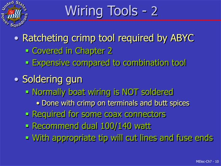 Wiring Tools -