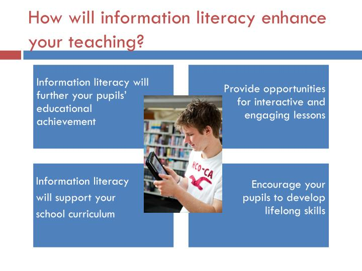 How will information literacy enhance your teaching?