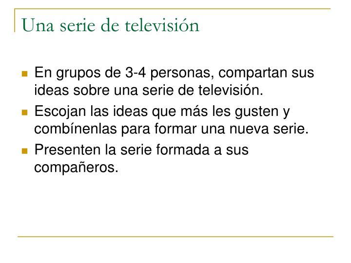 Una serie de televisi n