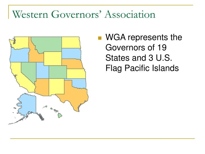Western governors association