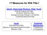 17 measures for wia title i