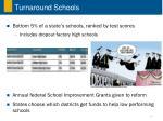 turnaround schools