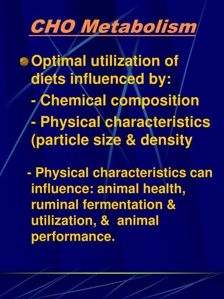 Cho metabolism2